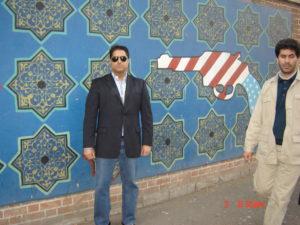 RAHUL MANCHANDA IN TEHRAN IRAN